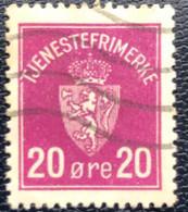 Norge - Norway - Noorwegen - P4/4 - (°)used -1926 - Michel D4 - Tjenesterfrimaerke - Service