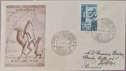 Carta. África Occidental Española. - Altri - Africa