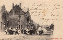 MASNY - La Mairie Et La Place - Other Municipalities