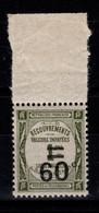 Taxe YV 52 N** Luxe Cote 17 Euros - 1859-1955 Nuevos