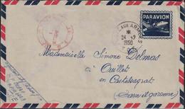 Guerre D'Indochine - Poste Aux Armées - 1950 - Franchise Stamps