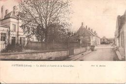 VIVIERES (02) La Mairie Et L'Entrée De La Grand'Rue - Sonstige Gemeinden