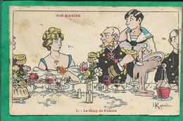 Nos Marins 7. Le Coup De Foudre Par Henry Gervèse (Charles Millot Vesoul 1880-1959 Buenos Aires) 2scans - Humor