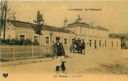 THIERS - La Gare. - Thiers