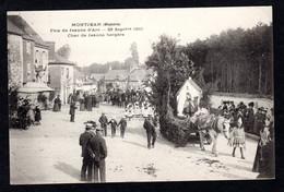 Pas Courant - Montjean (53 Mayenne) Fête De Jeanne-d'Arc 25 Sept 1910 , Char De Jeanne Bergère , Attelage , Costumes - Other Municipalities