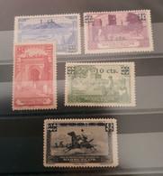 Marruecos N 162/166. Sin Charnela. - Marruecos Español