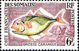 Cte Des Somalis Poste N** Yv:305/310 Faune Poissons - Nuovi