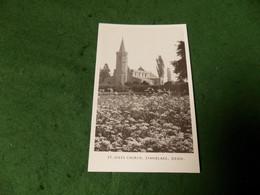 VINTAGE EUROPE UK OXFORDSHIRE: STANDLAKE St Giles Church B&w - Altri