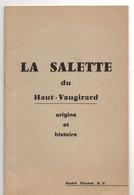 La SALLETTE Du Haut-Vaugirard, Origine Et Histoire,  Par FLACHOT, 48 Pages, Religieux De Saint Vincent De Paul, 1969 - Godsdienst