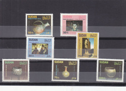 Stamps SUDAN 1998 SC 500 506 ARCHEOLOGY MNH SET CV$20 # 62 - Sudan (1954-...)