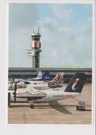 Rppc KLM K.L.M Royal Dutch Airlines Fokker F-50, VLM, BA &Transtravel @ Rotterdam Airport - 1919-1938: Between Wars