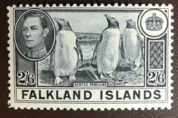 Falkland Islands 1938-50 2s6d Gentoo Penguins Birds MNH - Non Classificati