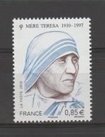FRANCE / 2010 / Y&T N° 4455 ** : Mère Térésa X 1 - Unused Stamps