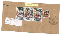 Surcharge E A   Sur Fragment TIZI OUZOU   Manuscrite - Algerien (1962-...)