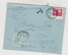 YUGOSLAVIA 1946 SUSAK  Nice Cover Postage Due - Lettres & Documents
