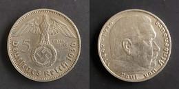 Duitsland - 3de Rijk 5 Reichsmark, 1936 F KM94 - 5 Reichsmark