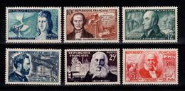 YV 1012 à 1017 N** Complete - Inventeurs Cote 15 Euros - Unused Stamps