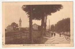 25 - MALBUISSON - Quartier De L'Eglise Et Orphelinat - Sonstige Gemeinden