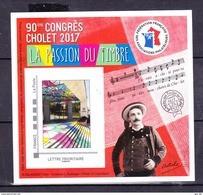 """#           Oo   Yvert FFAP N° 13 - """"90ème Congrès Cholet 2017"""" - Neuf**  Luxe OO - FFAP"""