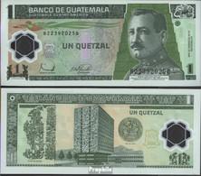 Guatemala Pick-Nr: 109 Bankfrisch 2006 1 Quetzal (plastic) - Guatemala