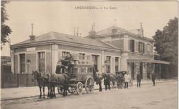 CPA  95  ARGENTEUIL LA GARE - Argenteuil