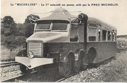 """La """"MICHELINE """" --Le Premier Autorail Sur Pneus ,crée Par Le Pneu MICHELIN - Zubehör"""