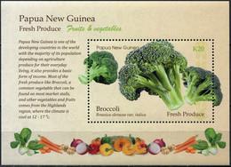 Papua New Guinea 2019. Broccoli (MNH OG) Souvenir Sheet - Papúa Nueva Guinea