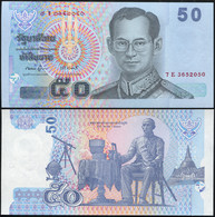 Thailand 50 Baht. ND (2007) Unc. Banknote Cat# P.112 - Thailand