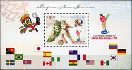 Papua New Guinea 2016. FIFA U20 Women's Football World Cup (MNH OG) S/S - Papua New Guinea