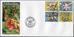 Papua New Guinea 2013. Orchids Of Papua New Guinea 3 (Mint) First Day Cover - Papua-Neuguinea