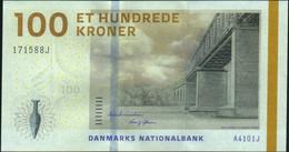 ♛ DENMARK - 100 Kroner 2010 {sign. Thomsen & Sørensen} UNC P.66 B - Dänemark