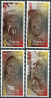 Papua New Guinea 2017. Faces Of The Southern Region (MNH OG) Set Of 4 Stamps - Papua New Guinea
