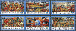 Papua New Guinea 2017. Chairmanship Of The APEC (MNH OG) Set Of 6 Stamps - Papua New Guinea