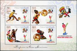 Papua New Guinea 2016. FIFA U20 Women's Football World Cup (MNH OG) M/S - Papua New Guinea