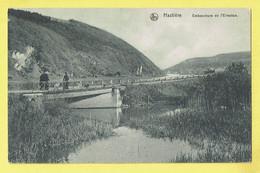 * Hastière (Namur - La Wallonie) * (Nels, Edition Fernand Merveille) Embouchure De L'Ermeton, Pont, Bridge, Canal - Hastière
