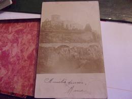43 CARTE PHOTO Vieille Brioude  HAUTE LOIRE  VILLAGE EGLISE PROMONTOIR  1902 - Other Municipalities