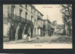 CPA - TOUL - Rue Béranger, Animé - Toul