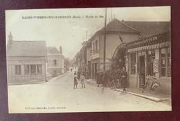 27 -  SAINT PIERRE DU VOUVRAY : Route Du BAC. - Otros Municipios