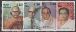 Sri Lanka - #1201-04(4) - Used - Sri Lanka (Ceylon) (1948-...)