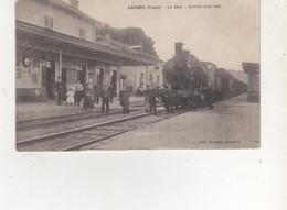 CPA  ARCHES LA GARE ARRIVEE D UN TRAIN - Sonstige Gemeinden