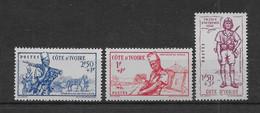 Côte D'Ivoire N°162/164 - Neufs ** Sans Charnière - TB - Neufs