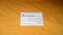 CARTE PUBLICITAIRE DATE ?..LA PETITE AUBERGE SON FILET...PARIS 7e.. - Advertising
