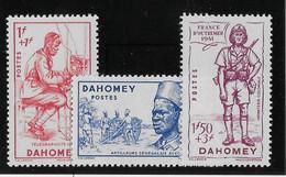 Dahomey N°142/144 - Neufs ** Sans Charnière - TB - Unused Stamps