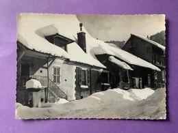 38  CPSM  MONESTIER DE CLERMONT   Paysage D'hiver       Bon état (Traces D'usage) - Sonstige Gemeinden
