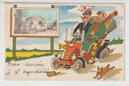 79 - Bien Arrivés à St Symphorien - Thouars