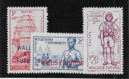 Wallis Et Futuna N°87/89 - Neufs ** Sans Charnière - TB - Unused Stamps
