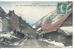 LA CONDAMINE. BARAQUEMENTS DU FORT TOUNOUX. CHASSEURS ALPINS - Otros Municipios