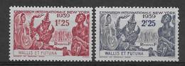 Wallis Et Futuna N°70/71 - Neufs ** Sans Charnière - TB - Unused Stamps