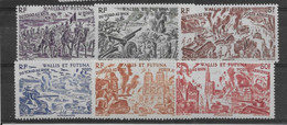 Wallis Et Futuna Poste Aérienne N°5/10 - Neufs ** Sans Charnière - TB - Unused Stamps