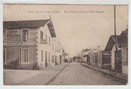 33 - Arès - Route D' Arès Au Porge à L' Hôtel Dupuch - Arès